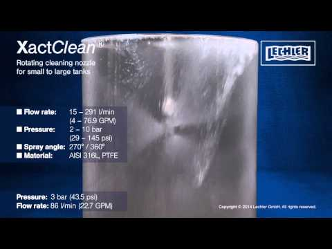Lechler Series 5W3 Xact Clean - Tank Cleaning