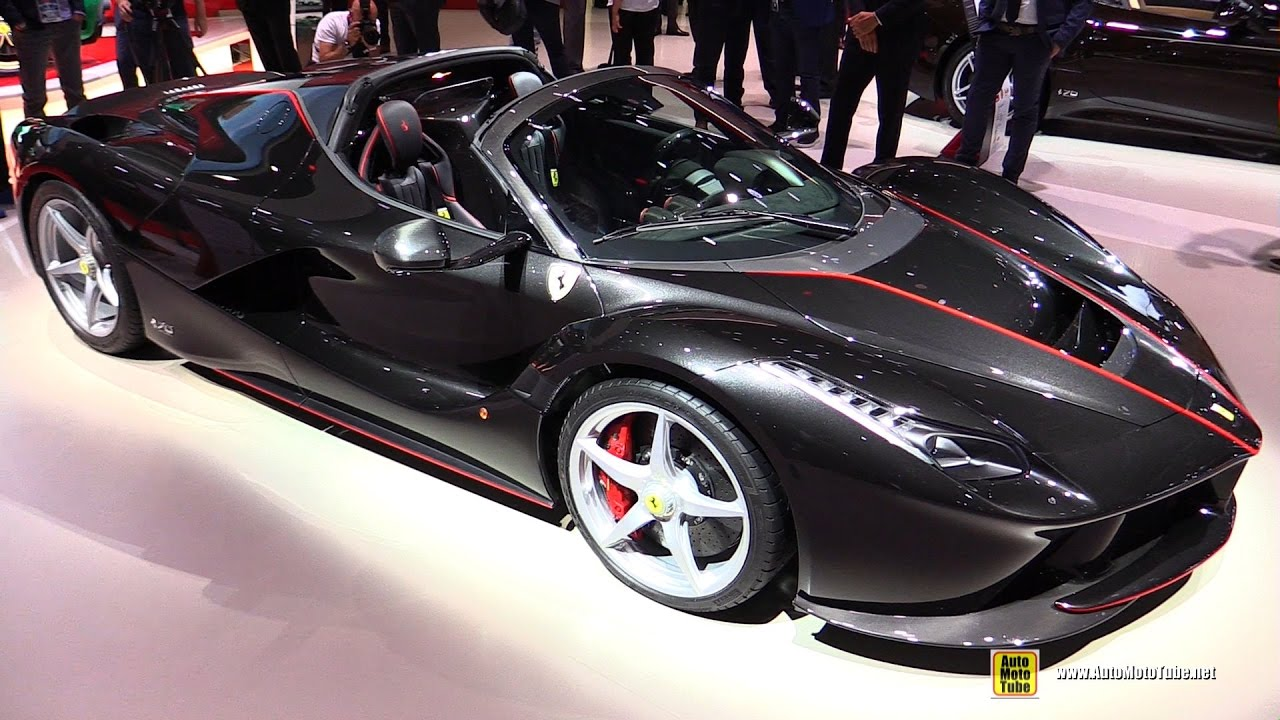 2017 ferrari la ferrari aperta exterior and interior walkaround2017 ferrari la ferrari aperta exterior and interior walkaround debut at 2016 paris motor show youtube
