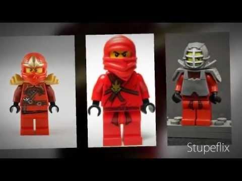 Lego Ninjago ALL OF THE NINJA MINIFIGURES!!! 2012 - YouTube