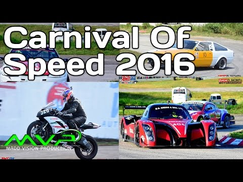 AMSOIL Coverage of Carnival Of Speed 2016