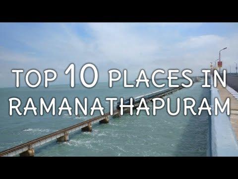 Top 10 Tourist Places In Ramanathapuram  - Tamil Nadu