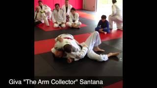 """Giva """"The Arm Collector"""" Santana: Sneaky Armbar Setup!"""