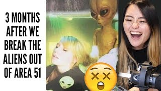 WE'RE STORMING AREA 51 MEMES