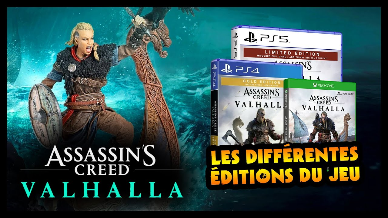 Download LES DIFFÉRENTES EDITIONS DE ASSASSIN'S CREED VALHALLA