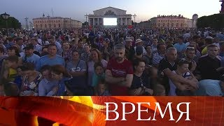 Салют завершит празднование Дня ВМФ в Санкт-Петербурге.