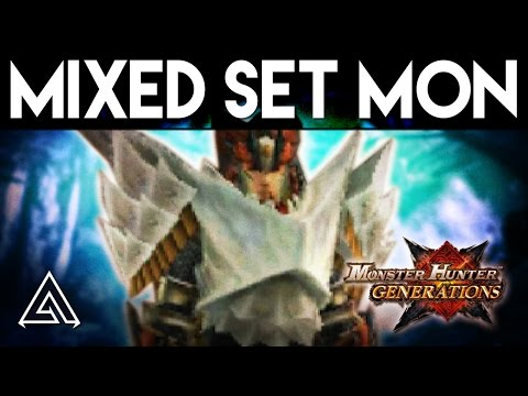 Monster Hunter Generations | Absolute Evade Lancing - Mixed Set Monday