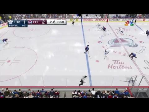 NHL18 =NHL Season#33  Colorado Avalanche - Toronto Maple Leafs