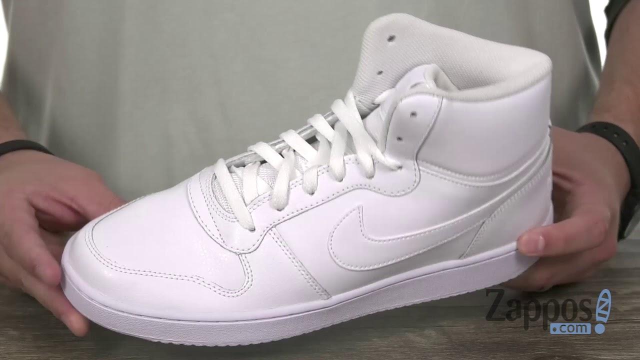 llegada deficiencia Desempacando  Nike Ebernon Mid SKU: 9043295 - YouTube
