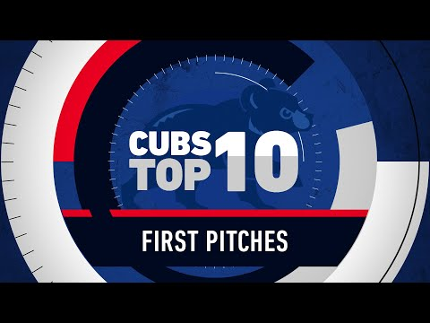 The Morning Rush with Travis Justice and Heather Burnside - WATCH: Top 10 Celebrity Pitches At Wrigley Field