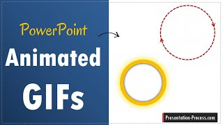 How to create Animated GIF using PPT