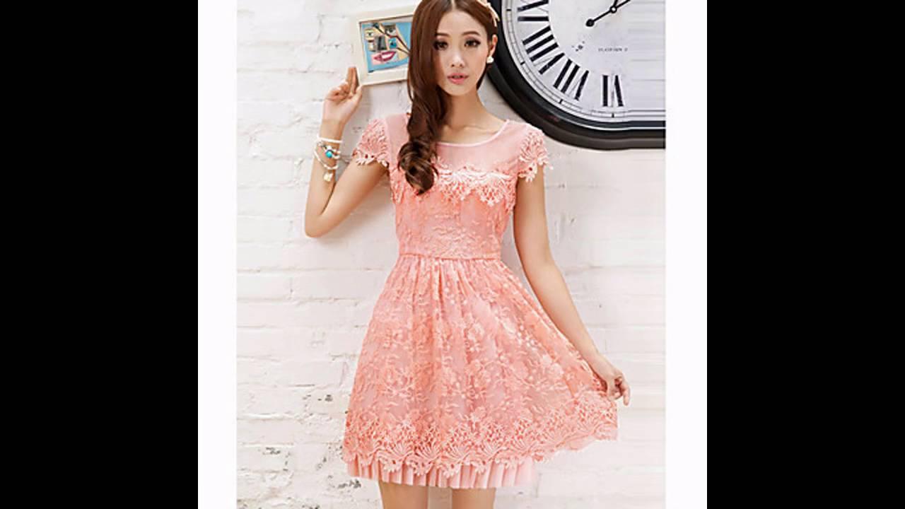 a66f27573d Vestidos casuales de moda para adolescentes - YouTube