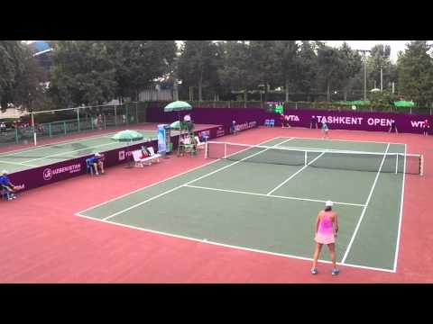 WTA Tashkent Open 2014 Qualification Geo-Kaz 6-4, 4-6, 6-0