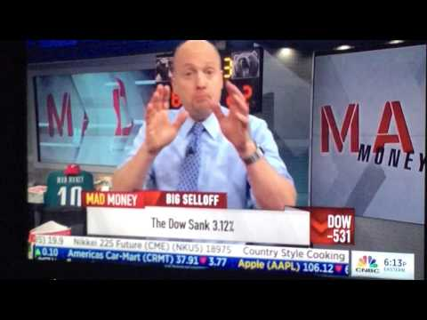 Jim Cramer suggesting with hard work investors can beat an index fund