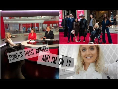 PRINCES TRUST AWARDS & I'M ON TV | Jordan Bone