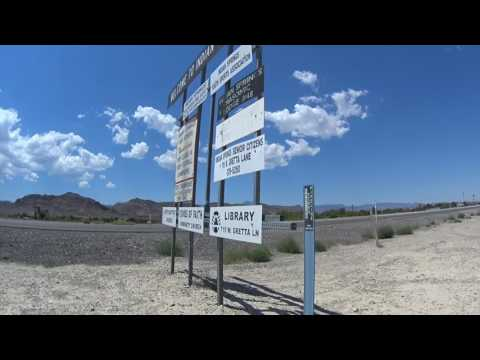 Mercury the Off-Limit Town in the Nevada Desert..,  Do Not Enter !