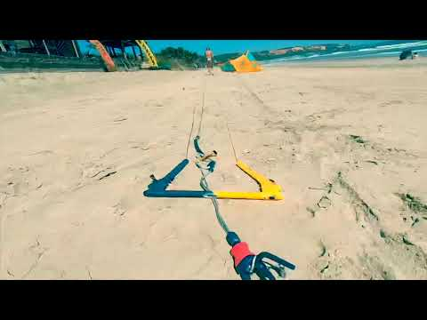 Test Kite F1 Bandit S