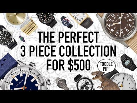 The Perfect 3 Piece Watch Collection Under $500 + Hugo's Gift GIAJ #15