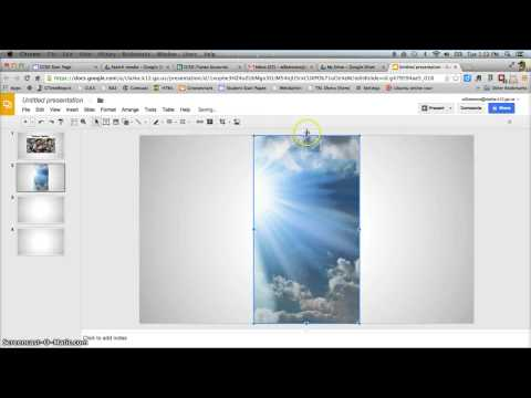 Create Picture Slideshow in Google Slides