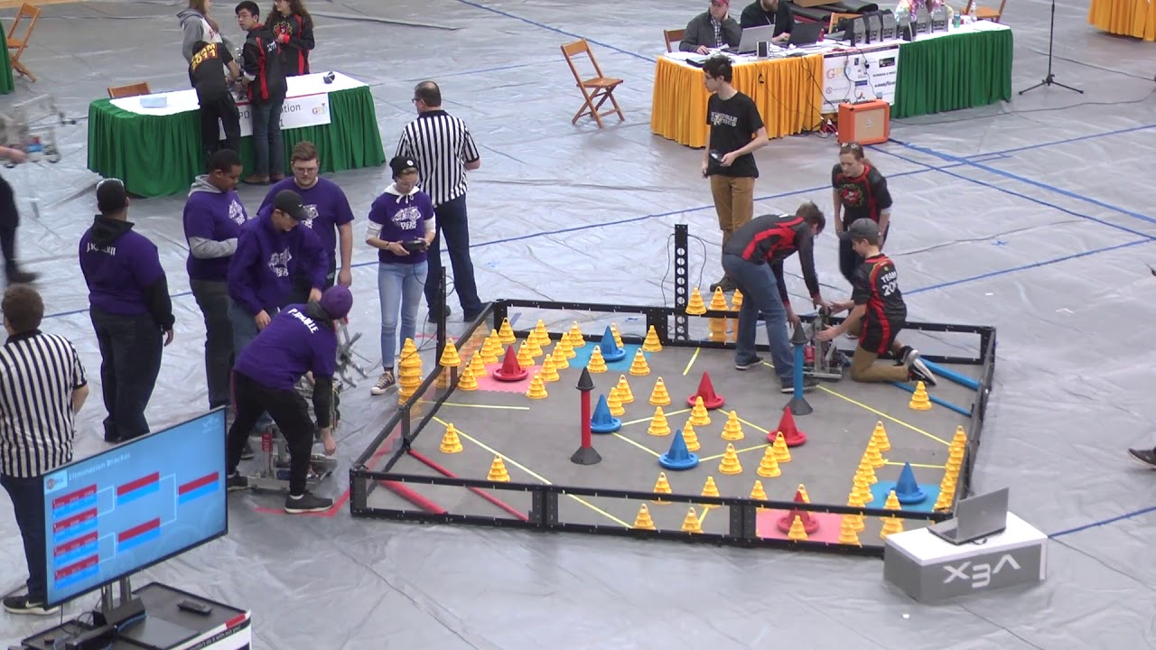 Vex Robotics Competition In The Zone January 6 2018 Youtube