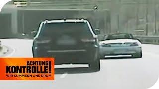 Gefährliches Überholmanöver vorm Tunnel: Wie hoch ist die Strafe? | Achtung Kontrolle | kabel eins