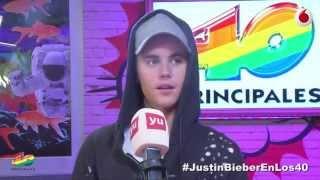 Justin Bieber se enfada y se va de los 40 principales