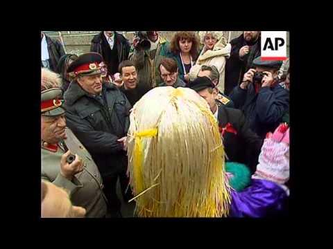 Russia - Zhirinovsky To Act As Milita Man In Film