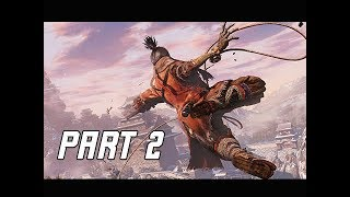 SEKIRO SHADOWS DIE TWICE Walkthrough Part 2 (Let's Play Commentary)