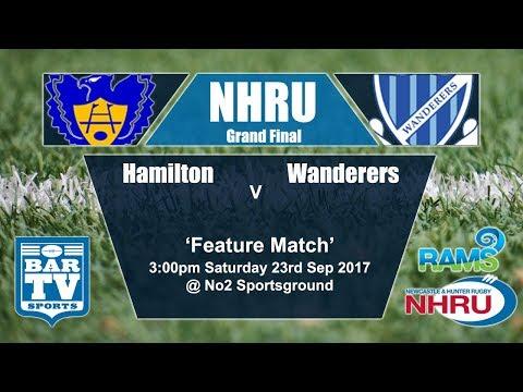 2017 RAMS NHRU Premier 1 Grand Final - Hamilton Hawks v Wanderers