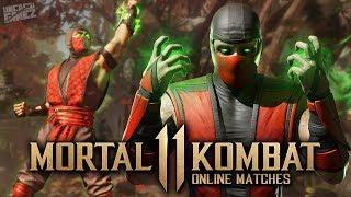 Mortal Kombat 11 Online - INSANE Shang Tsung ERMAC Combos!!