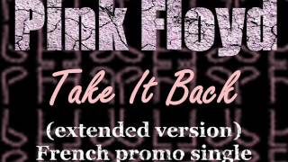 Pink Floyd - Take it Back (extended French promo single)