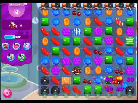 Candy Crush Saga Level 1264(NO BOOSTERS,22 MOVES)2019
