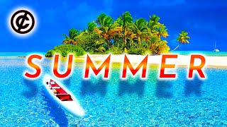 Happy Vlog Music | No Copyright | Summer Music | 🌊 Sounds of the Ocean | Happy Piano Music