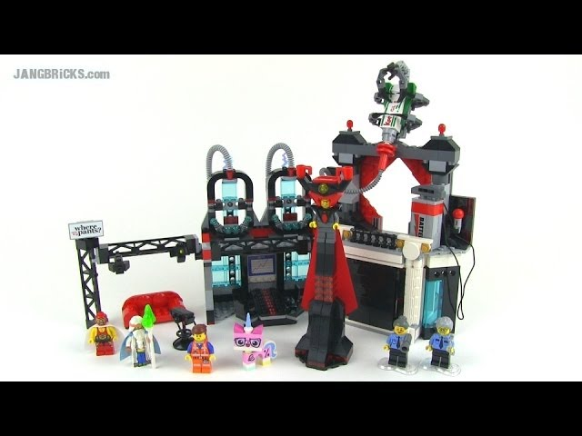 Lego Movie Set Review Lord Business Evil Lair Youtube