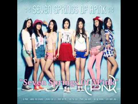 [MP3 DOWNLOAD] A Pink- Seven Springs Of APink w/ Romanized & English Lyrics