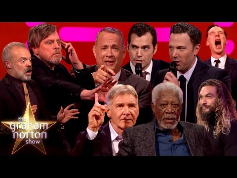 Recreating Film Moments On The Graham Norton Show Part One