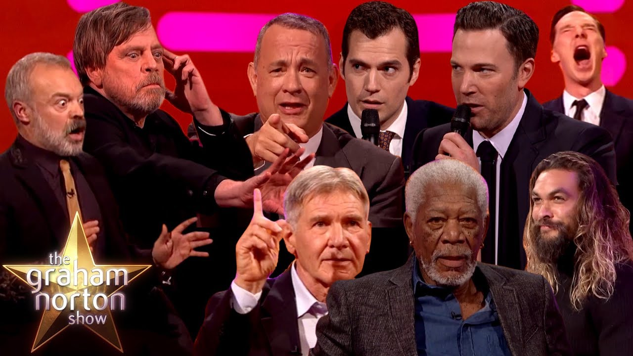 Recreating Classic Film Moments On The Graham Norton Show Part One