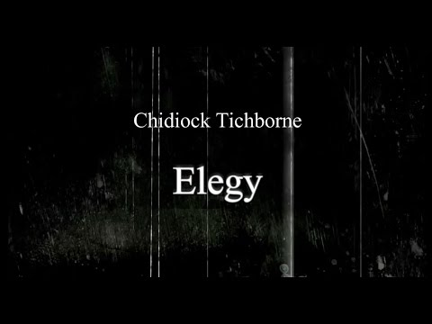 TICHBORNE S ELEGY PDF DOWNLOAD