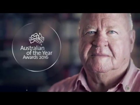 Graham Edwards - Senior Australian Of the Year WA Recipient