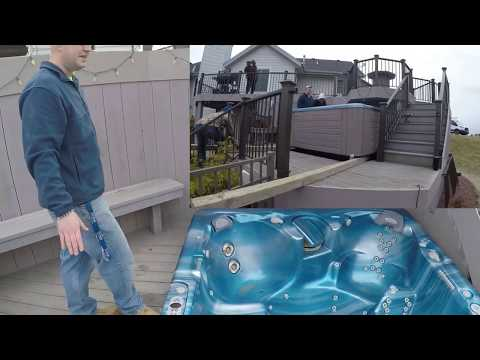 In Deck - Hot Tub Delivery