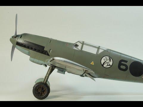 Eduard 1/32 Messerschmitt Bf 109 D with Alley Cat Models Resin Conversion