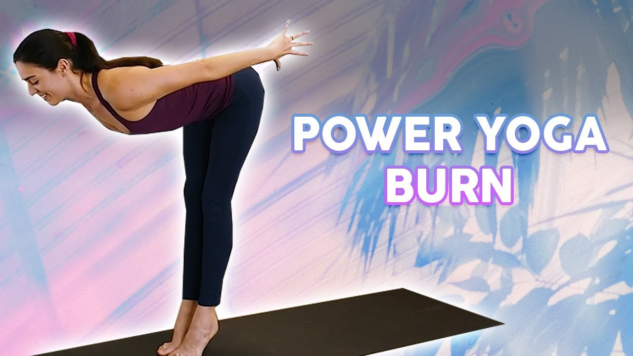 Power Yoga Burn ♥ 5 Poses with Julia Marie | 20 Min Class, Yoga for Weight Loss, 30 Day Challenge