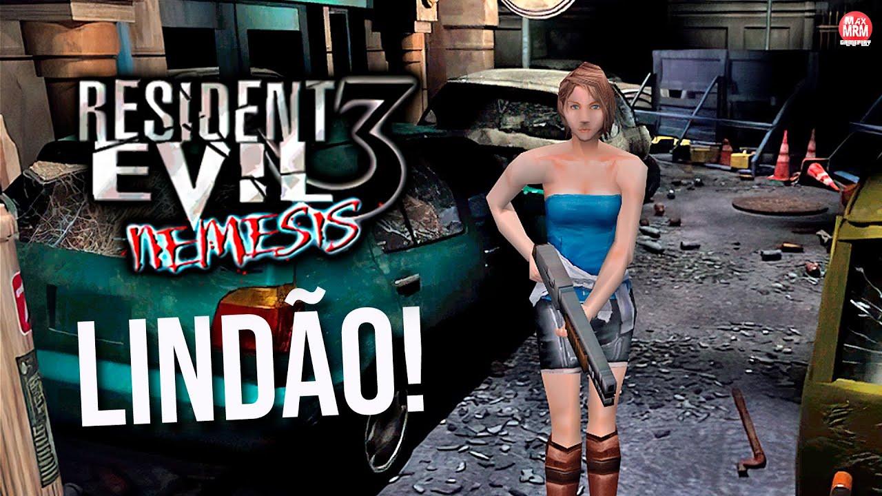 Resident Evil 3 Em Hd Esta Lindo Demais Re3 Seamless Hd