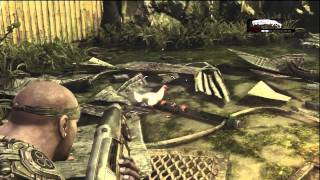Gears of War 3 Cole Train Is the Chicken Chaser