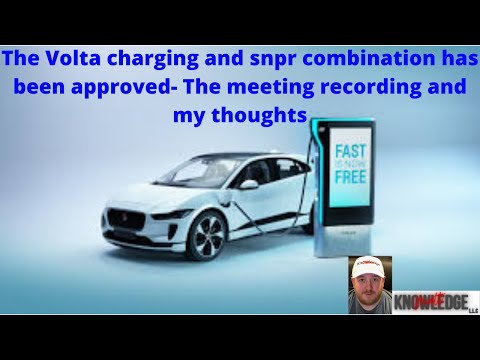 Download The Volta Charging and Snpr stock merger has been approved- Here's the meeting and my thoughts