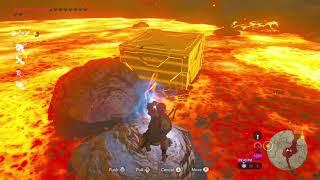 Breath of the Wild Troll Physics: Lava Boat