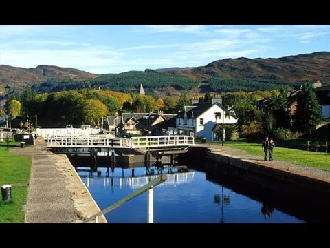A Walk Around The Fort Augustus Locks, Scotland aka The Loch Ness Locks