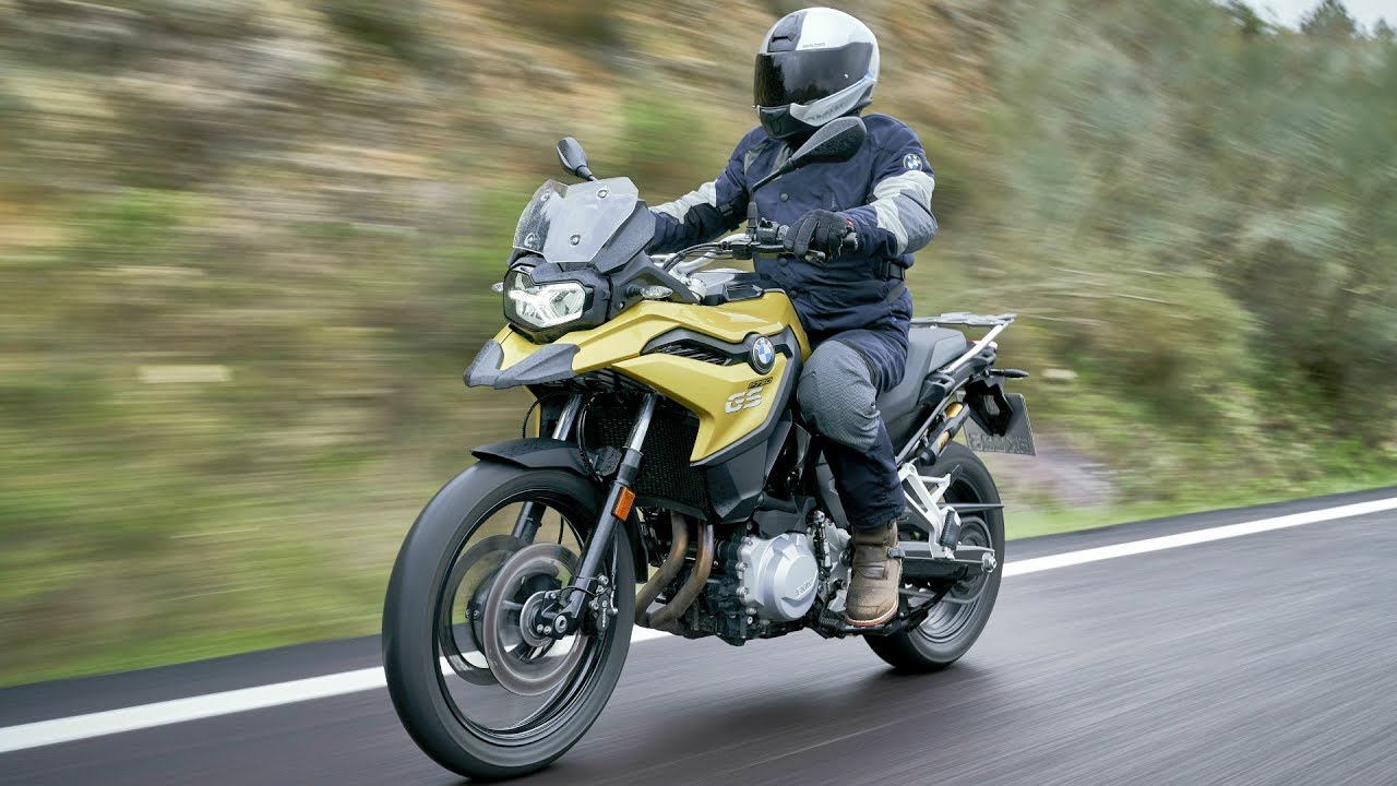 BMW F 750 GS - Travel Enduro with Strong Character - YouTube