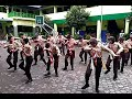Atraksi Yel Yel Tongkat Semapur Dewan Penggalang SMP Negeri 1 Sokaraja