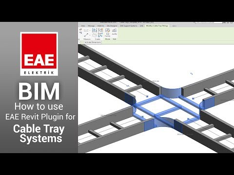 How to use EAE Revit Plugin for Cable Tray Systems
