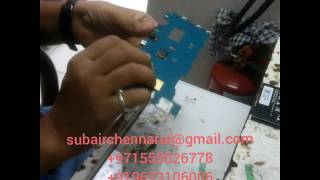 Samsung sm-t561 charging connector changing